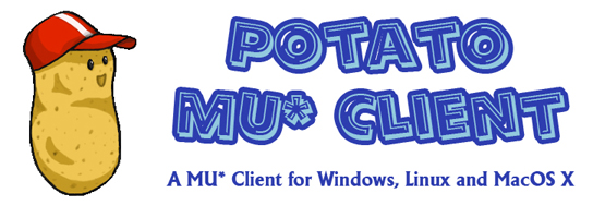 Potato MU* Client - a MU* Client for Windows, Linux and Mac OS X