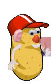 Mr Potato Head's uglier cousin